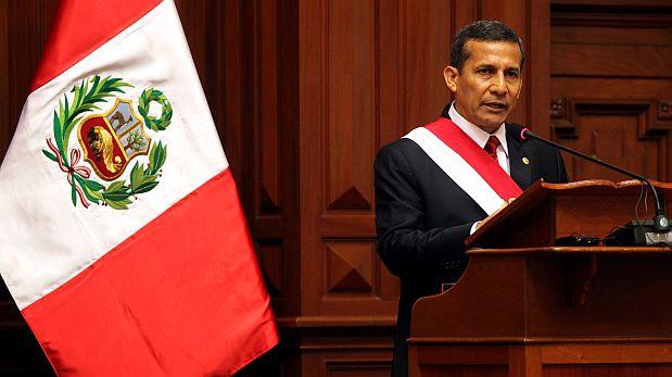 Humala dará mensaje a la nación a la 1 de la tarde, según fuentes de Palacio de Gobierno. (Foto: Rolly Reyna/ Archivo El Comercio)