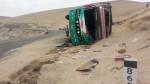 Accidente en Arequipa: chofer se habría quedado dormido - Noticias de jaime oloyo huamani