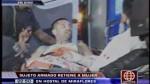 Sujeto armado retuvo a una mujer en hostal de Miraflores - Noticias de locher montoya