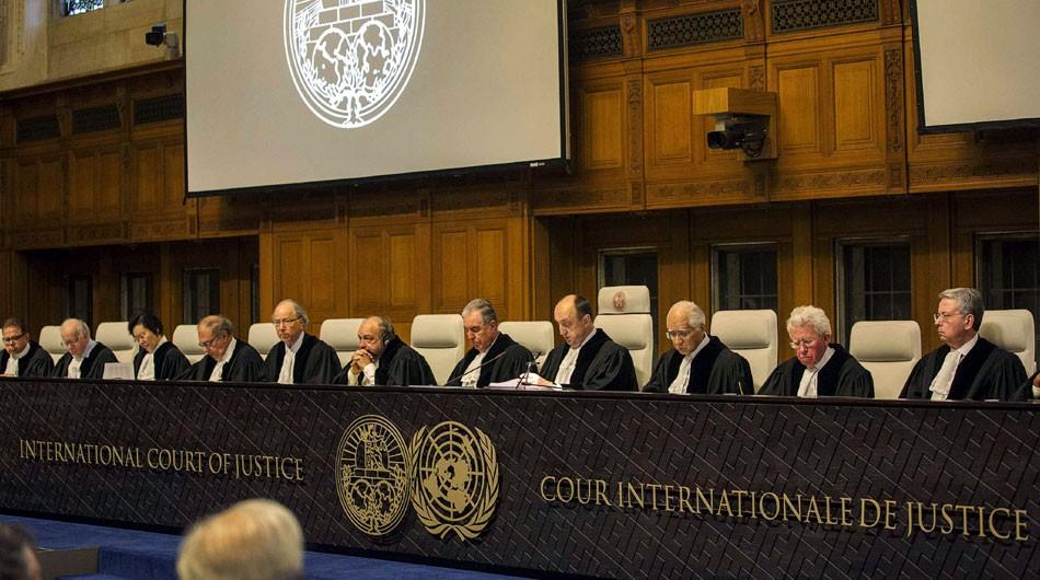 Los jueces del Corte de la Haya