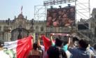 Lima vive así el histórico fallo de la corte de La Haya