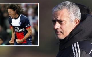 José Mourinho quiere a Edinson Cavani en el Chelsea