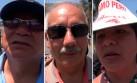 VIDEO: lo que opinan los limeños sobre el fallo de La Haya