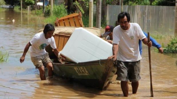 Lluvias se incrementarían en 16 regiones del país