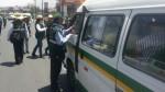 Chofer de combi retuvo a inspectora de transportes - Noticias de dionisio llosa
