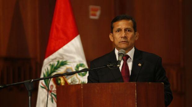 El presidente Ollanta Humala utilizará el mismo podio que se habilita para el mensaje a la nación por Fiestas Patrias