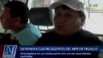 Agentes del INPE almorzaron con preso en restaurante - Noticias de jorge zabaleta lopez
