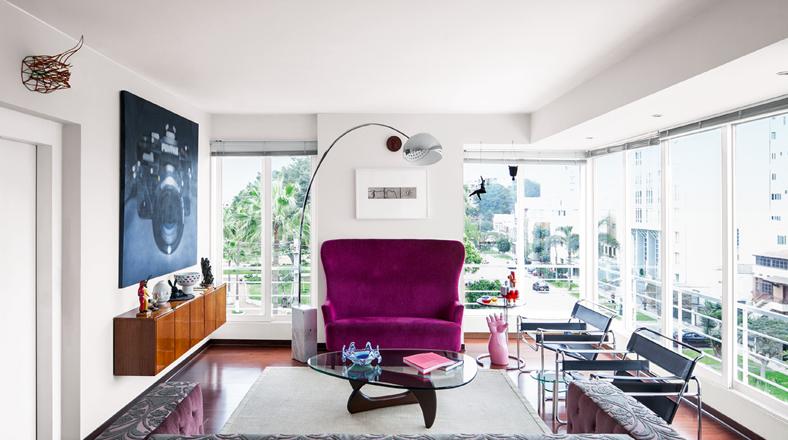 Un departamento decorado con 39 pura energ a 39 foto galeria - Energia pura casa enel ...