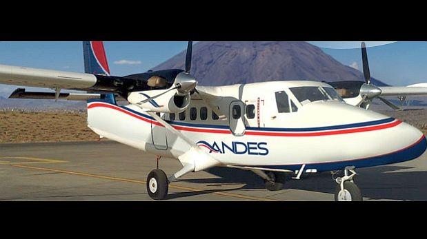 Andes inicia operación de vuelos turísticos en el Cusco