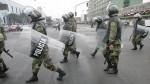 Huelga policial fue convocada por agente ligado a radicales - Noticias de rolando pantoja quispe