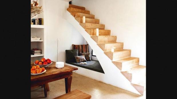 5 ideas para aprovechar el espacio debajo de las escaleras for Diseno de libreros para espacios pequenos