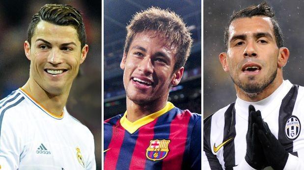 ¡Felicidades! Cristiano Ronaldo, Neymar y Tevez cumplen años