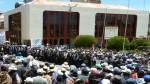 Bloqueo de vía en Puno afecta paso de camiones a Bolivia - Noticias de pobladores de pilcuyo