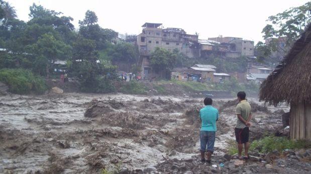 Piden declarar en emergencia a Pasco por lluvias