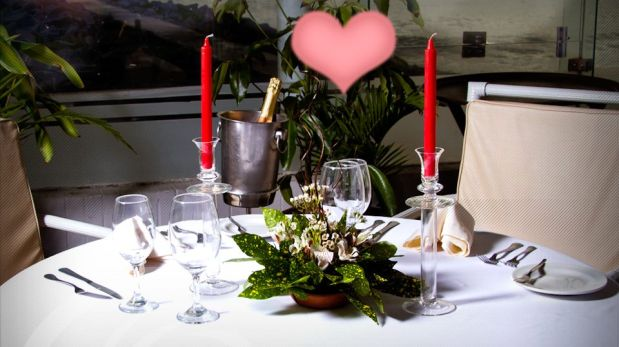 Los mejores rincones románticos para cenar en San Valentín