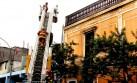 Bomberos evitaron que incendio de Paseo Colón consumiera solar