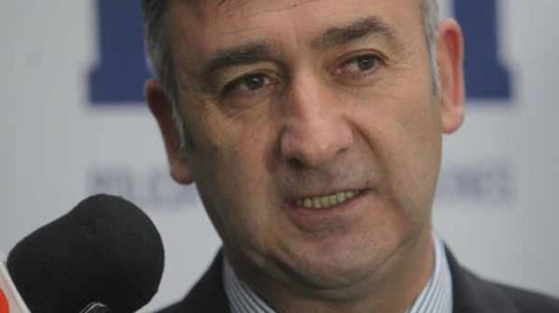 Víctor Arriagada, jefe de la Brigada de Homicidios de la Policía de Investigaciones de Chile, confirmó el asesinato. (El Mercurio/GDA)