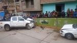 Joven ebrio mata a sus padres en accidente de tránsito - Noticias de graciela donayres huaman