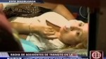 Mujer chocó contra muro de la Vía Expresa de Javier Prado - Noticias de rosario pelaez ramirez