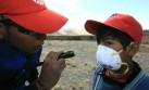Ubinas: Piden a pobladores usar lentes por la ceniza