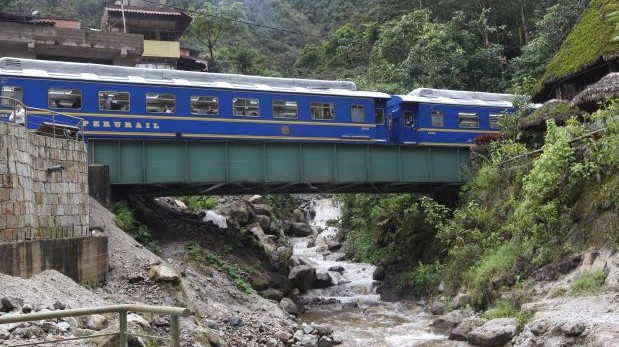 Machu Picchu: Turistas serán trasladados en tren