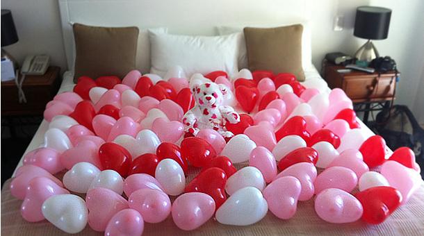 Ponle el toque rom ntico a tu habitaci n en san valent n for Cuarto lleno de rosas