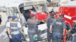 Pese a muertes y accidentes siguen circulando 'chosicanos' - Noticias de felix almerco aliaga