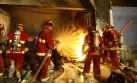 Un bebe falleció durante incendio en San Juan de Lurigancho