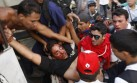 La marcha contra Maduro terminó en violencia