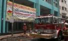 Así se combatió el incendio que dejó dos muertos en el Cercado