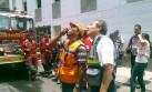 Fallecidos en incendio fueron hallados tras retiro de bomberos