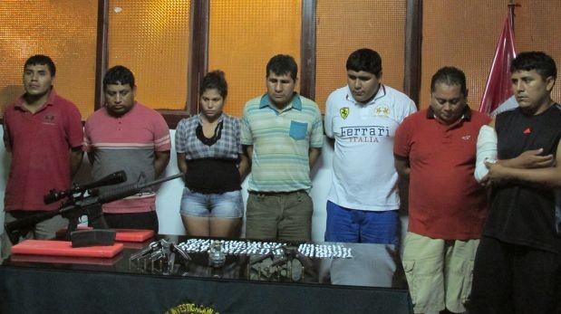 """Cayó banda """"Los Patecos"""", la más peligrosa de Chimbote"""