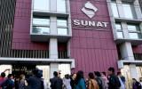 Sunat: ingresos tributarios cayeron 5,3% interanual en enero