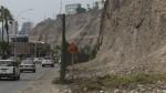 Costa Verde: Lima no descarta más accidentes por caída de rocas - Noticias de sota nadal