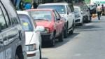 Policía de Tránsito pone papeletas a vehículos de la Dirincri - Noticias de luis quispe candia