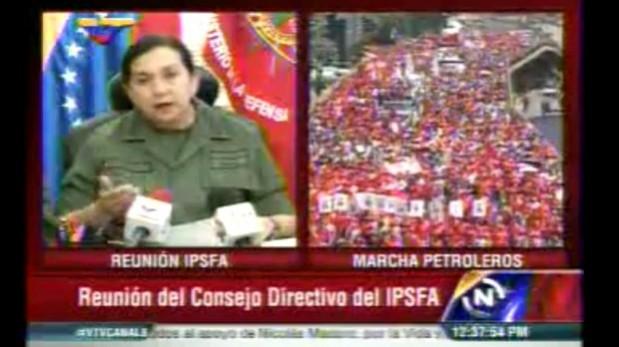 Venezuela: Militares cierran filas con Nicolás Maduro