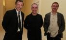 Tres famosos chefs se juntaron en Lima