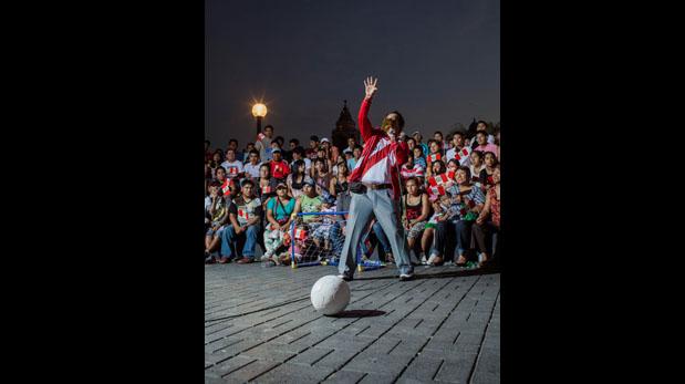 Exposición muestra el lado artístico del fútbol