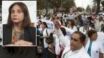 Huelga médica: para el Minsa no hay tema pendiente con galenos - Noticias de nivelación de sueldos