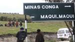 Policía impidió el paso de antimineros hacia zona de Conga - Noticias de edy benavides