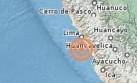 Temblor de 4,1 grados se sintió esta tarde en Lima