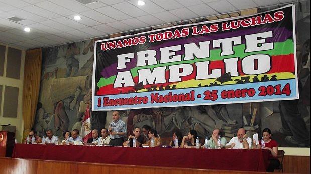 Frente Amplio que lidera Salomón Lerner apoya a Nicolás Maduro