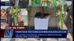Lay Fun recibió homenaje póstumo de la Policía Canina - Noticias de olger benavides
