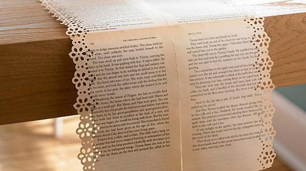 Reutiliza las p ginas de tus libros antiguos y decora tu - Como hacer un libro antiguo ...