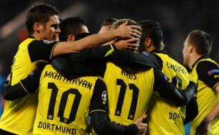 Champions: Borussia Dortmund derrotó 4-2 al Zenit en Rusia