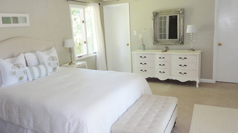 Seis ideas para darle un ambiente c lido al cuarto de - Habitacion de invitados ...