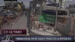Obras en estación 28 de Julio fueron retrasadas nuevamente - Noticias de obras vía expresa