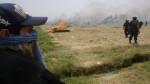 Dos muertos y 6 heridos por desalojo en terrenos de Majes - Noticias de autodema
