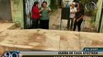 Chorrillos: A dos meses de denuncia municipio no arregla vereda - Noticias de magdalena mifflin