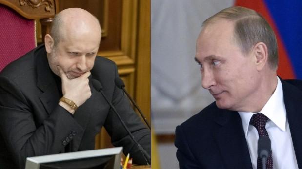 """Ucrania: """"Intervención militar rusa significaría la guerra"""""""